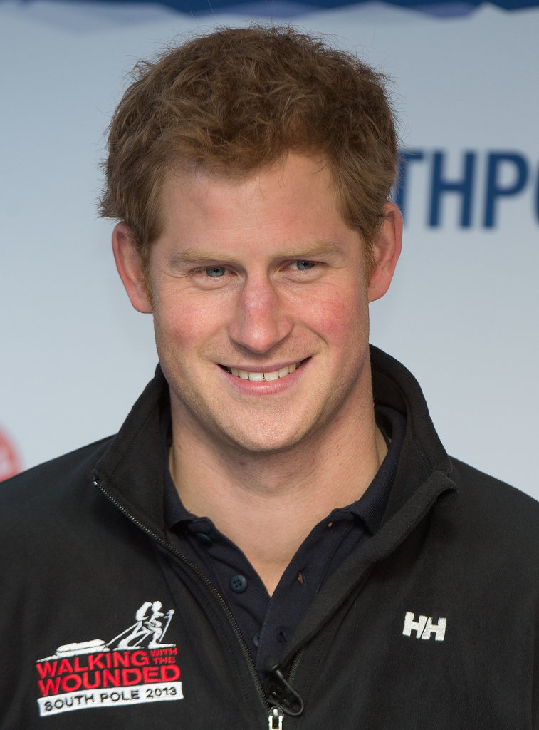 Prince Harry looked relaxed before his trip.