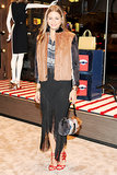 Olivia Palermo in Fendi at Vogue's Fendi Buggies launch.