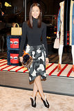 Liu Wen in Fendi at Vogue's Fendi Buggies launch.