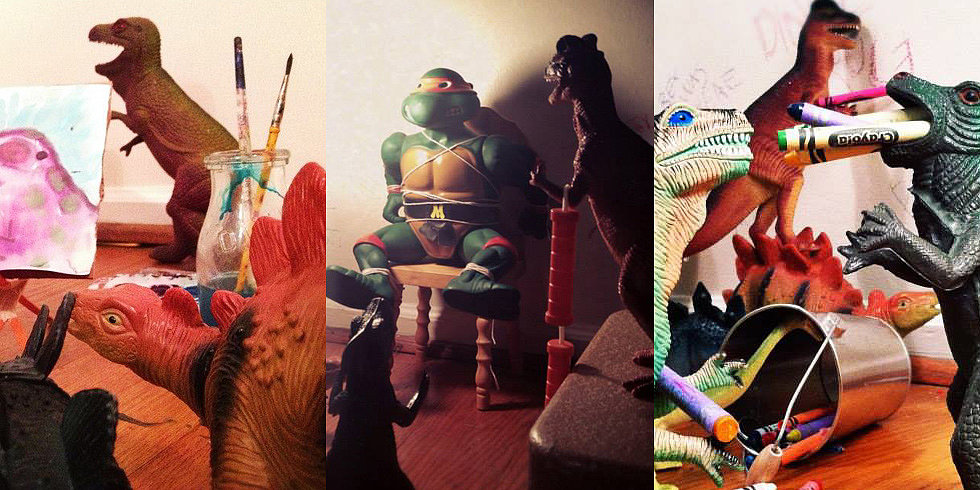 Coolest Dad Ever Invents Dinovember For His Kids