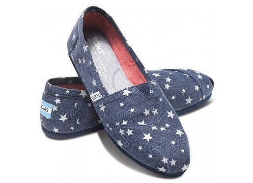 Be a crowd-pleaser and a do-gooder when you gift a pair of TOMS ($54). Every pair of shoes bought helps to provide a pair of shoes to someone in need in one of more than 60 countries.
