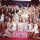 7. The entire cast of the 2013 Victoria's Secret Fashion Show posed for a snap after the show. Source: Instagram user victoriassecret