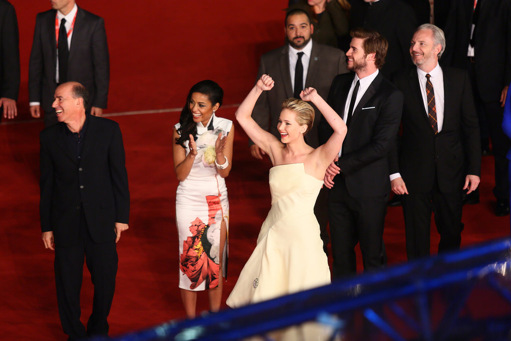 Jennifer Lawrence Is Having So Much Fun