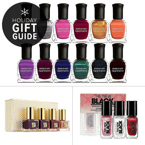 This holiday, there are plenty of gorgeous polish sets, small and large, for the lacquer-lover on your list. See all the best nail polish gift ideas over on POPSUGAR Beauty.