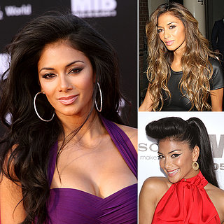 X Factor's Nicole Scherzinger Best Hair and Makeup Looks