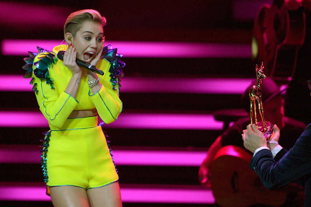 Miley Cyrus Skips the Pot to Pick Up Her Latest A