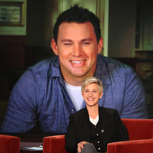 Channing Tatum Interview on Ellen November 2013 | Video