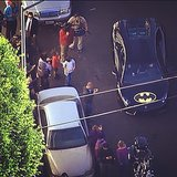 Batkid made his way through the streets in his Batmobile. Source: Instagram user shananbyous
