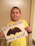 A sign of solidarity. Source: Facebook user Batkid Photo Project