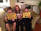 This family's on board! Source: Facebook user Batkid Photo Project