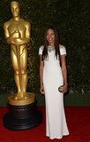 Actress Naomie Harris hit the red carpet at the Governors Awards in LA.