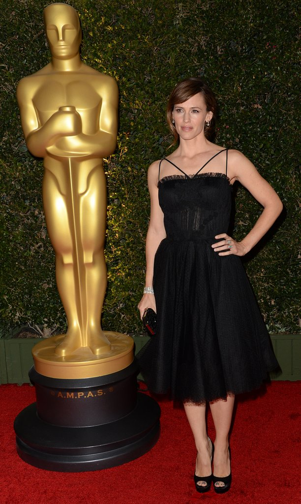 Jennifer Garner hit the red carpet at the Governors Awards.