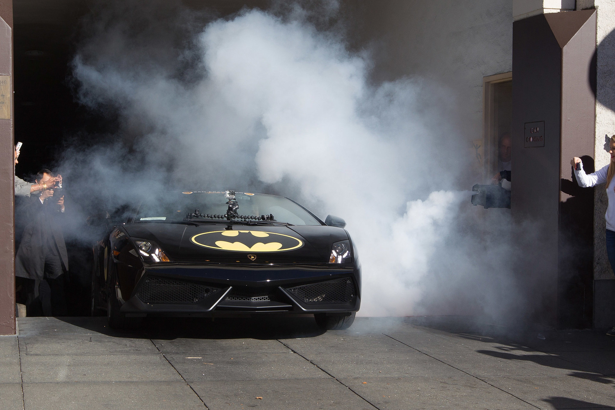 Batkid started his day