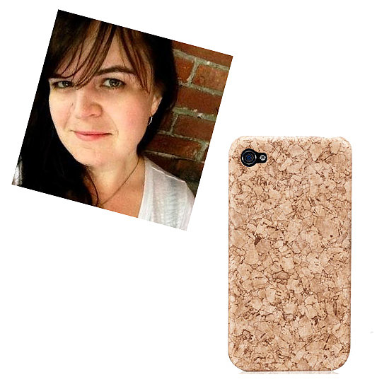 "@manhattancanuck iPhone 5 Cork Hard Case Cover ($25) ""This questionably protective yet unbelievably stylish cork iPhone case is ideal for me, as it will allow me to pin the pop-up reminders that I snooze every five minutes, directly to my phone."""