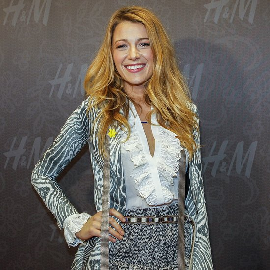 Blake Lively at H&M New Orleans Flagship Store