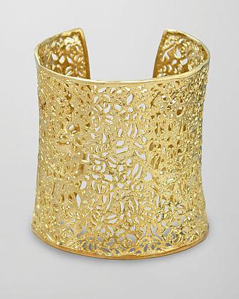 Kendra Scott Ainsley Cuff, Gold