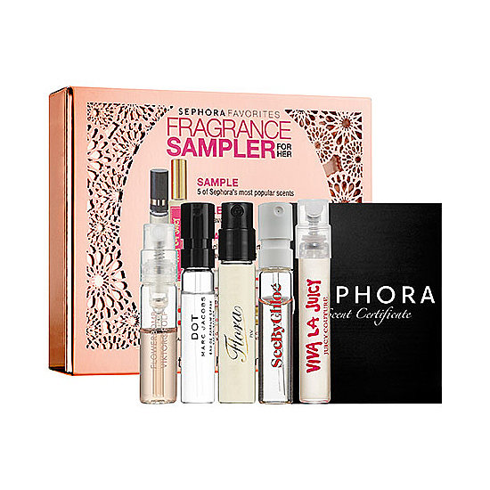 You can never go wrong with perfume. And if you don't know the woman's taste, then buy this Fragrance Rollerball Sampler For Her ($24). That way she'll find something she likes. And if not, you tried your best.