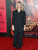 Amanda Plummer, who plays Wiress in the film, posed solo on the carpet.