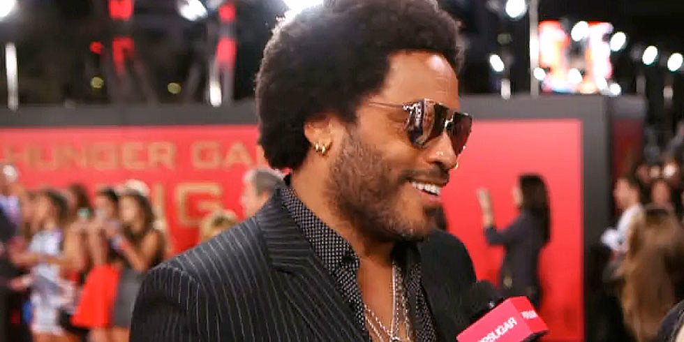 "Lenny Kravitz on Jennifer Lawrence: ""She's Family!"""