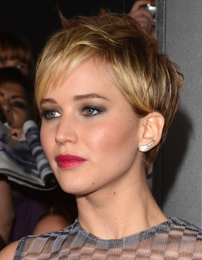 Jennifer Lawrence stunned at the LA Catching Fire premiere.