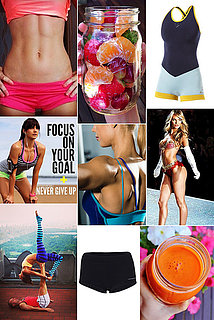 Monday Mood Board: Health and Fitness Inspiration