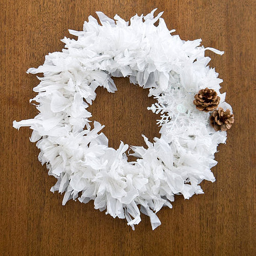 Plastic Bag Wreath