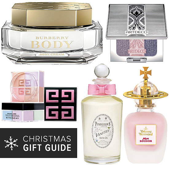 Pretty Beauty Gifts to Dress Up a Boudoir