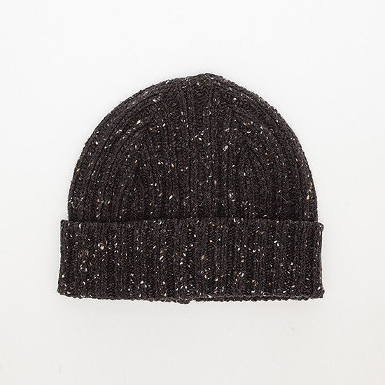 We're suckers for a cozy cap ($60) — especially this one by Howlin By Morrison, whose marled gray wool already looks like it's got a smattering of snow.