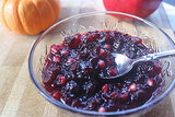 Sauces: Pomegranate Cranberry Sauce