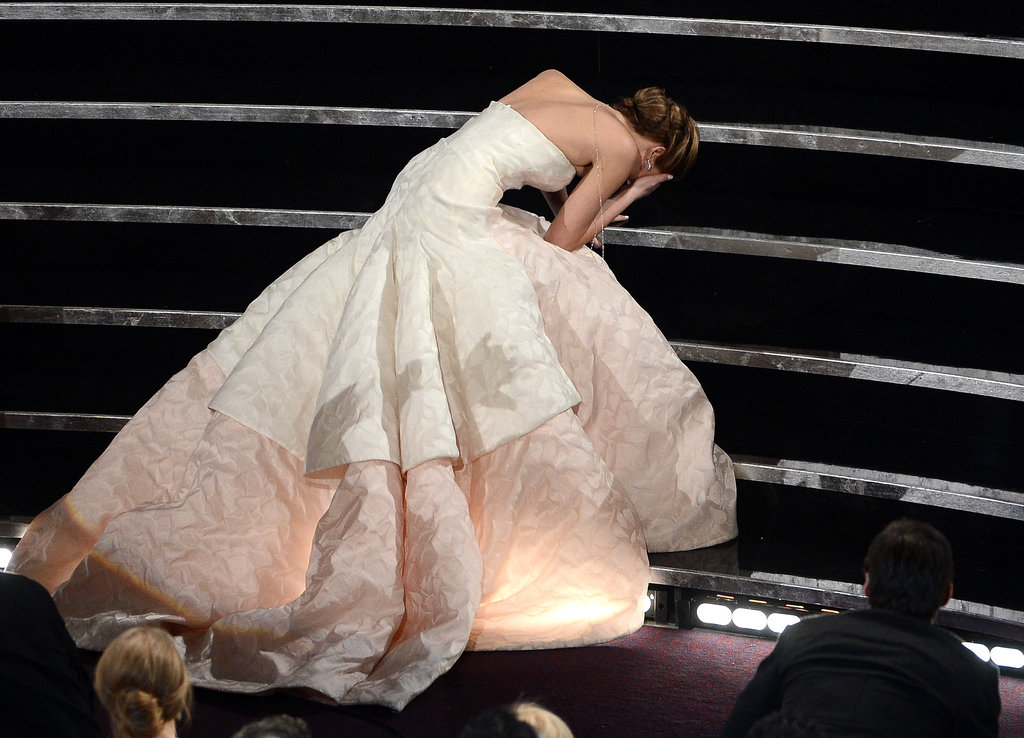 Jennifer Lawrence's Oscars Rise — and Fall