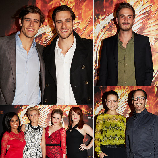 Australian Stars Catch a Big Screening (Literally!) of Catching Fire in Sydney