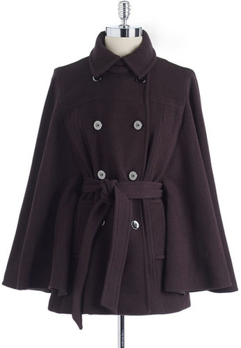 MICHAEL MICHAEL KORS Double-Breasted Cape Coat
