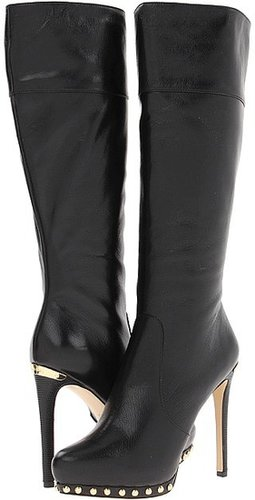 MICHAEL Michael Kors - Ailee Tall Boot (Black) - Footwear