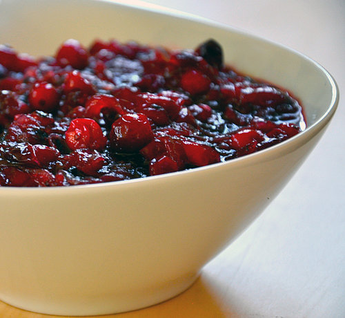 Fresh Cranberry Sauce With Caramelized Onions Recipe