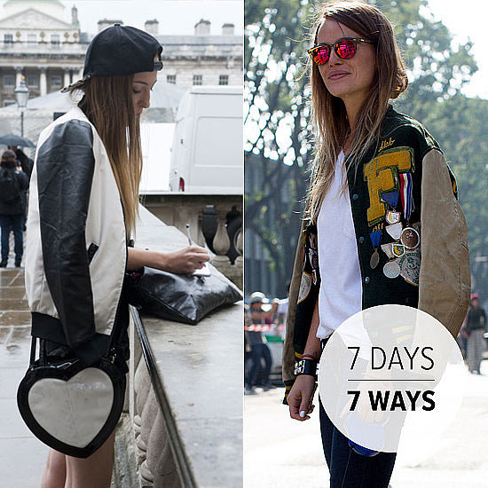 7 Street Style-Inspired Ways to Wear A Bomber Jacket