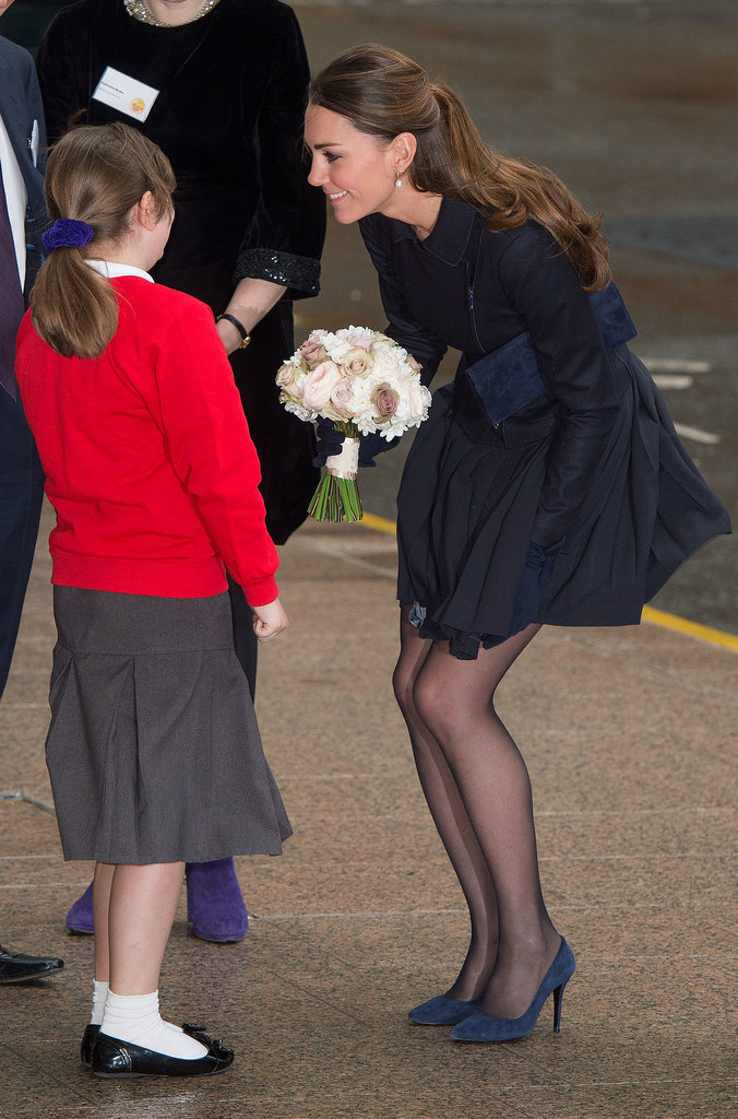 Kate Middleton attended a forum about cyberbullying, addiction, and self-harm at Place2Be, a nonprofit, in London.