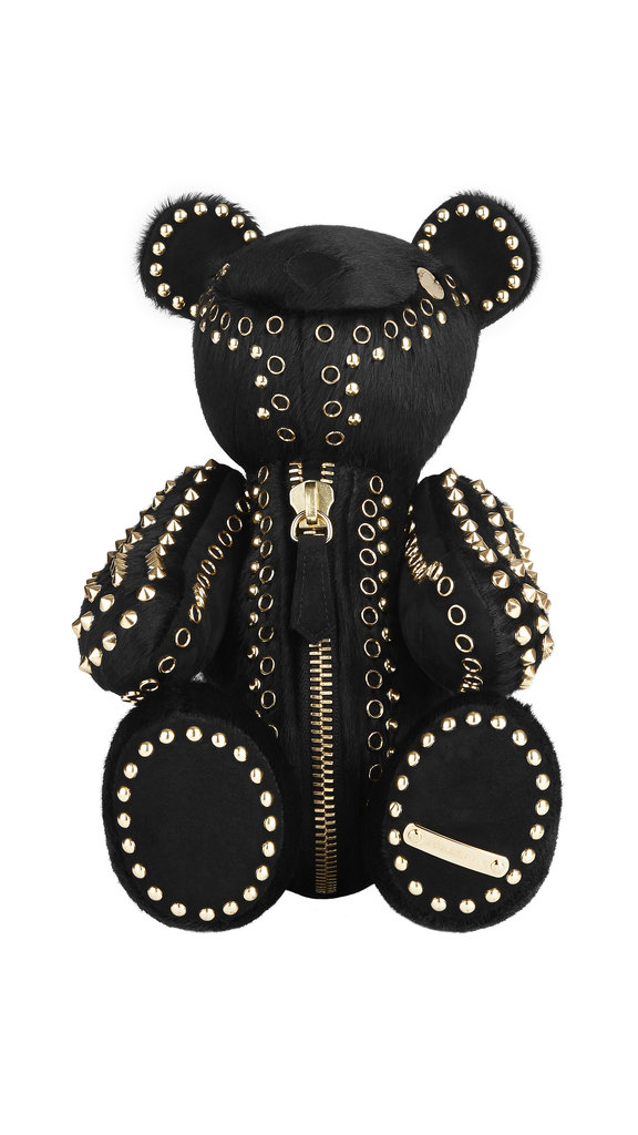 No one's too old for stuffed animals when they're this chic. Burberry delights us all this holiday season with its studded calfhair teddy ($1,095).