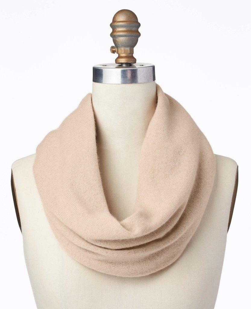 Doesn't everyone love cashmere? This Ann Taylor Cashmere Infinity Scarf ($138) is sure to be a hit with Mom.