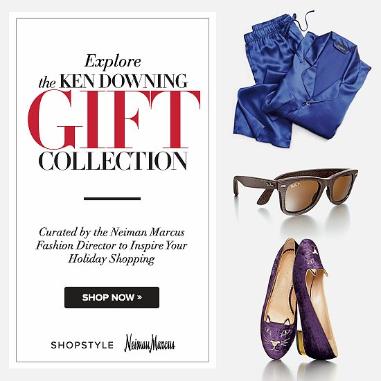 Take a peek at the Ken Downing Gift Collection on ShopStyle. Ken's irresistible lineup is sure to surprise and delight everyone on your shopping list.