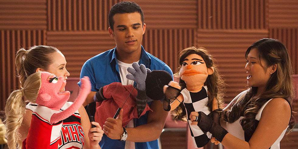 Want to See What the Glee Cast Looks Like as Muppets?
