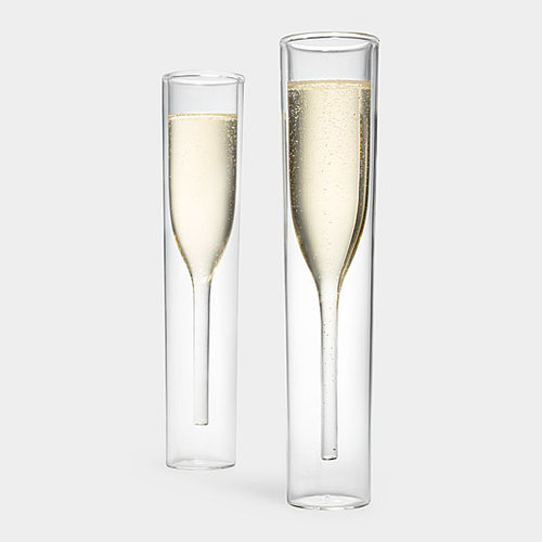 Everyone should have at least one set of interesting, uncommon glassware, and these Inside Out Champagne glasses ($70) will be a welcome gift for anyone building their home bar. — Britt Stephens, assistant entertainment editor