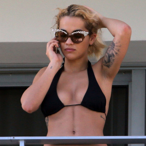 Rita Ora in a Bikini in Miami