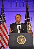 President Barack Obama addressed the crowd at a dinner honoring the Presidential Medal of Freedom recipients.