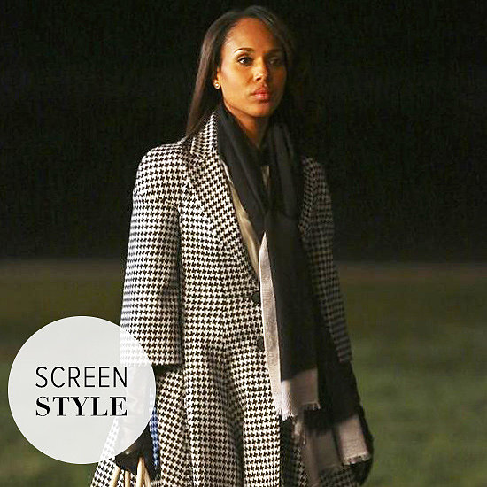 Olivia Pope Ups The Winter Coat Game Yet Again
