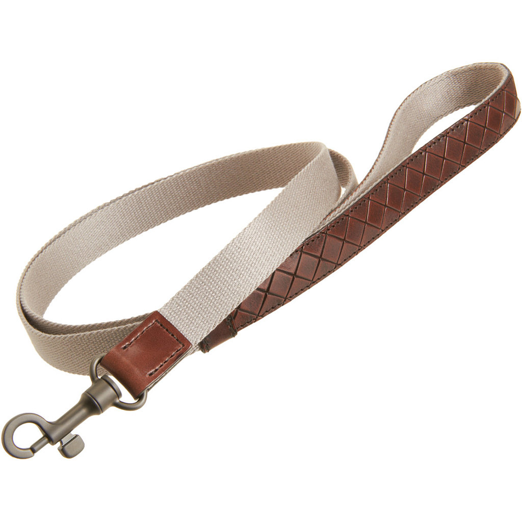 Who wouldn't want to be kept on a short leash when it's a Bottega Veneta intreccio scolpito leash ($470)?