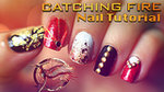 Now THIS Is a Catching Fire Nail Tutorial!