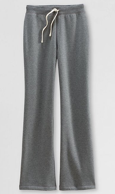Nothing wrong with hanging in a classic pair of Land's End sweatpants ($25) on a cozy day at home.