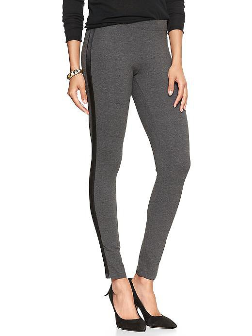 You can get away with wearing these dressed-up Gap Tuxedo Leggings ($35) out and about.