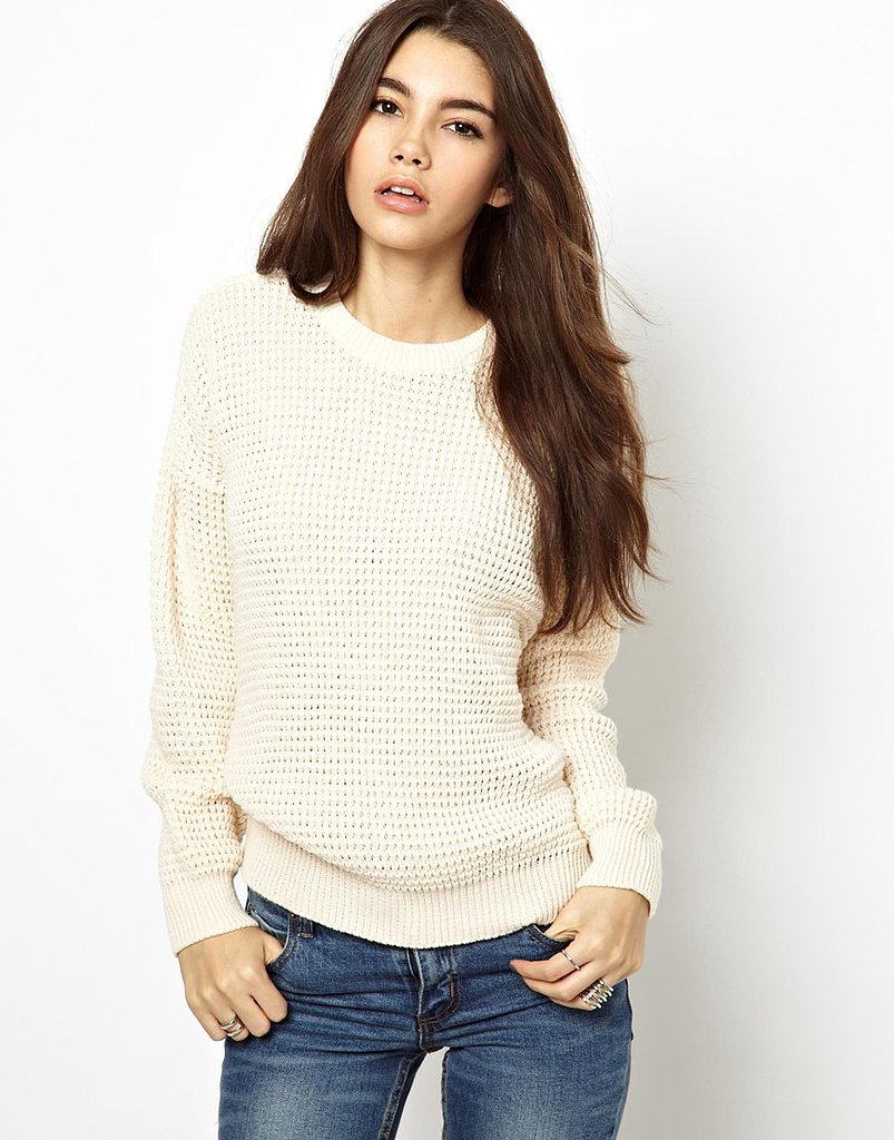 Every closet needs a classic pullover, like this ASOS Daisy Street Fisherman's Sweater ($32).