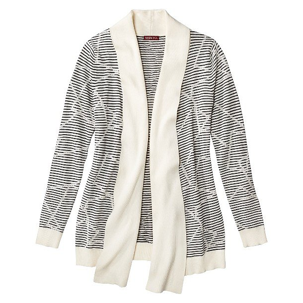We already know we'll wear this Merona Open Layering Cardigan ($28) with everything — including skinny black jeans and a slouchy tee.
